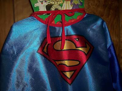 SUPERMAN-HALLOWEEN-COSTUME-BOYS-MED-8-10-NEW-RUBIES