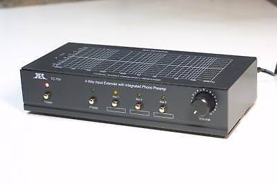 Tcc Tc 754  Black Finish Riaa Phono Preamp W  3 Aux Inputs And Output Control