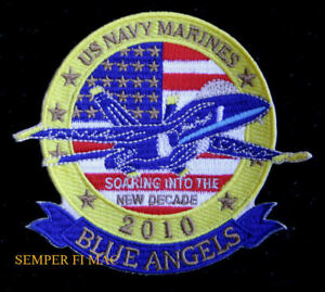 2010-US-NAVY-BLUE-ANGELS-PATCH-F-18-BLUE-ANGEL-MARINE