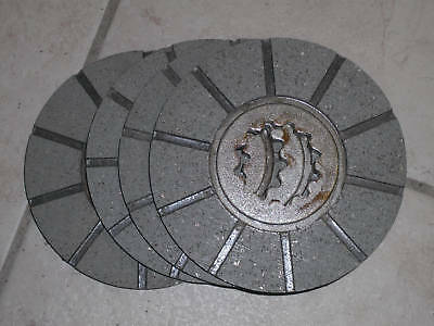 Brake Disc Farmall M Super M Mta W-6 400 450 4 Each Brake Disk