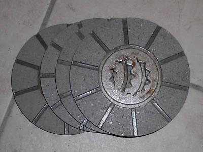 Brake Disc Farmall M Super M Mta W-6 400 450 4 Each Brake Disk