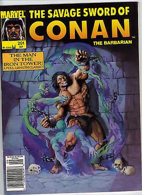 Savage Sword of Conan #201