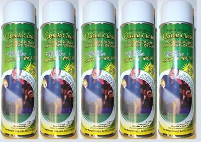 5 Rapid Clean Cans, Pool Table Felt Cleaner,Easy To Use