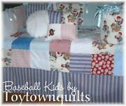 Baby Boy Baseball Bedding