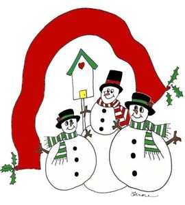 ... Garden > Greeting Cards & Party Supply > Greeting Cards & Invitations: ebay.com/itm/personalized-snowmen-family-christmas-cards-cute...