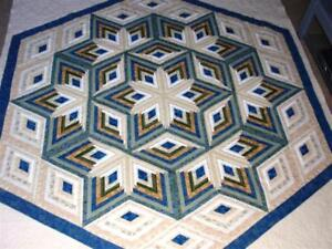 Diamond-Log-Cabin-Star-quilt-pattern