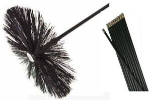 CHIMNEY-SWEEP-FLUE-SWEEPING-SET-BRUSH-8-FLEXIBLE-RODS