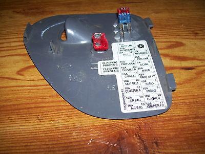 01 ram fuse box 01 dodge ram fuse box