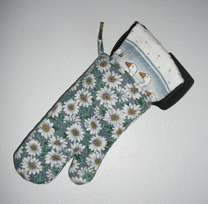 OVEN MITT & UTENSIL SET~7 Piece Set~Designs Vary~NEW~FREE SHIP