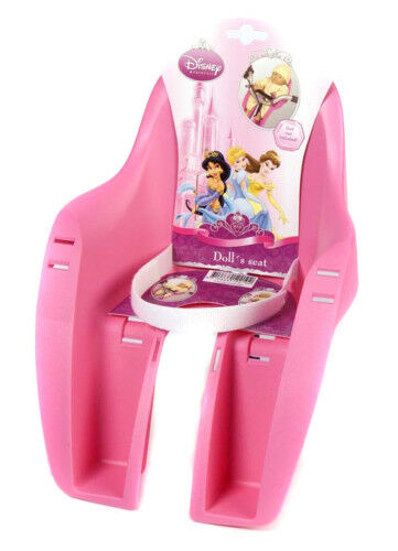 Cycle bike Disney Princess baby dolls dolly carrier seat, pink