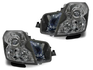2003 2004 2005 2006 2007 CADILLAC CTS CTS-V DEPO CLEAR CHROME HEADLIGHTS PAIR
