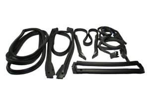 1984-1989 C4 CORVETTE COMPLETE WEATHERSTRIP KIT COUPE