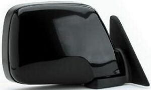 TOYOTA-100-SERIES-LANDCRUISER-RHS-BLACK-MANUAL-MIRROR