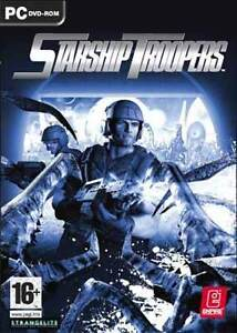 STARSHIP TROOPERS - PC Sci-Fi Shooter Game - NEW