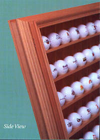 48 Collectable Golf Ball Cabinets