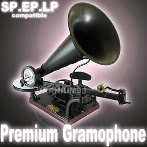 Gakken-DIY-Wind-Up-Premium-Gramophone-Otona-no-Kagaku