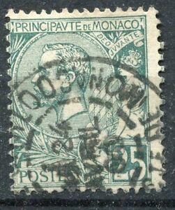 TIMBRE-MONACO-N-16-OBLITERES-SUR-CHARNIERE