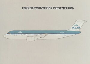 FOKKER F-29 - INTERIOR PRESENTATION & EXECUTIVE SUMMARY