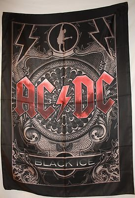 AC/DC ACDC BLACK ICE ANGUS Cloth Poster Flag Fabric Tapestry Wall Banner-New!