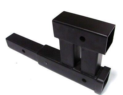 Dual 2 Trailer Hitch Receiver Rise-drop Adapter Extender Extension 4000lb Tow on Sale