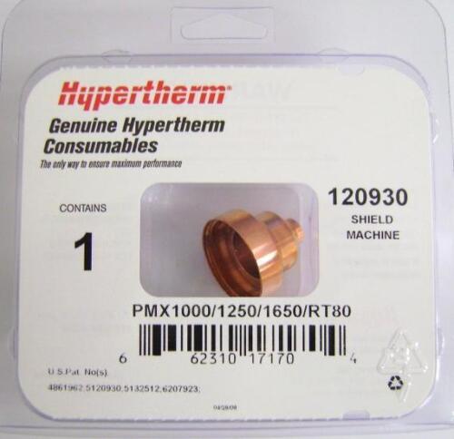 Hypertherm Genuine Powermax 1000/1250/1650 Shield Machine Cutting 40-80A 120930