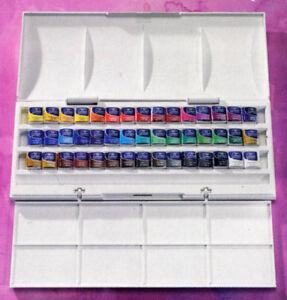 Winsor-and-Newton-Cotman-45-Half-Pan-Watercolour-Set