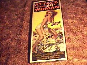 ATTACK-OF-50-FT-WOMAN-14X36-MOVIE-POSTER-58-SCI-FI