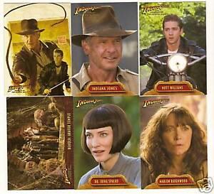 Indiana-Jones-and-Kingdom-of-the-Crystal-Skull-Card-Set