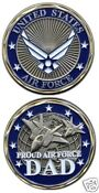 Air Force Silver Coin