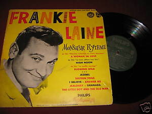 Frankie-Laine-Monsieur-Rythme-SUPER-RARE-Philips-195-French-Press-10-LP