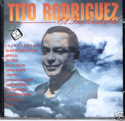 Tito Rodriguez El Inolvidable (varios Artistas) Brand Sealed Cd