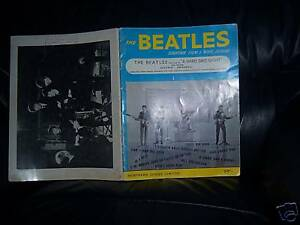 The-Beatles-Original-1964-A-HARD-DAYS-NIGHT-SHEET-MUSIC-BOOK-all-the-songs