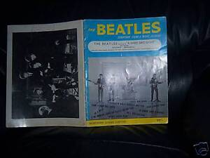 The-Beatles-Original-1964-A-HARD-DAY-039-S-NIGHT-SHEET-MUSIC-BOOK-all-the-songs