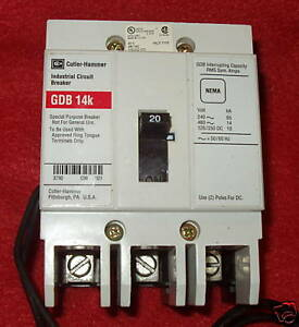 Cutler-Hammer-Circuit-Breaker-20-A-3-Pole-GDB3020DS1