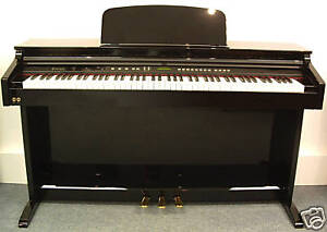 HIGH-GLOSS-BLACK-New-Diginova-Digital-Piano-NO-RESERVE-88-Fully-Weighted-Keys