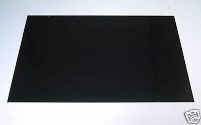 1 PVC Modellbau Platte schwarz 320x210x3mm