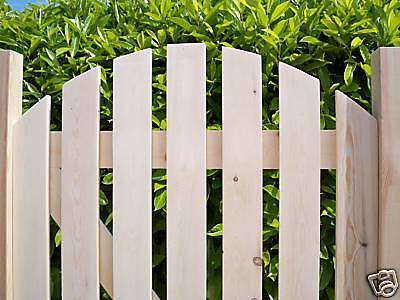 Custom Made - HEAVY DUTY Wooden Garden Side Gates - PLANED SMOOTH