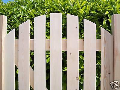 Custom Made - HEAVY DUTY Wooden Garden Side Gates - PLANED SMOOTH