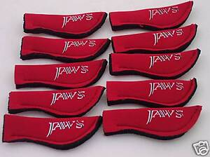 JAWS-ROD-TOP-COVER-FOR-Accurate-Calstar-Loomis-Seeker-fishing-ROD-red-10-pack