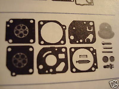 Carburetor Kit Replaces Zama Rb-73 Fits C1u-w4a, W7, W7a More (49908