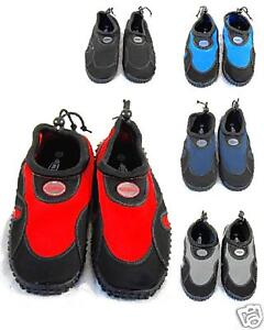 MENS-BLUE-RUSH-BEACH-WETSUIT-AQUA-SHOES-SZ-8-9-10-11-12