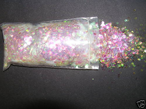 Crystalina #322 Iridescent Crafts Party Wedding Confetti Glitter 1/2 Lb