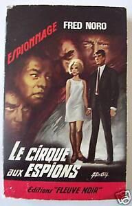 Fred noro le cirque aux espions fleuve noir 563 ebay for Le miroir aux espions