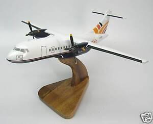 ATR-42-Blue-Island-Airplane-Desktop-Wood-Model-Large