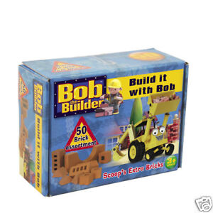 Bob the Builder Game- Build it with Bob Extra 50 Bricks