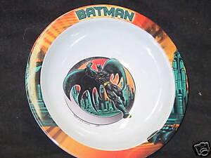 Bat Man, Set of 2 Kids Bowls, NEW