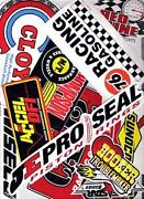 Assorted Racing Stickers