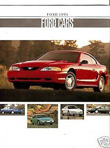 1994-Ford-Cars-Sales-Brochure