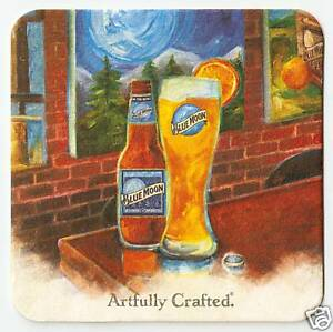20  Blue Moon  Belgian White  Beer Coasters