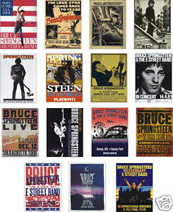 Bruce-Springsteen-Concert-Posters-Trading-Card-Set